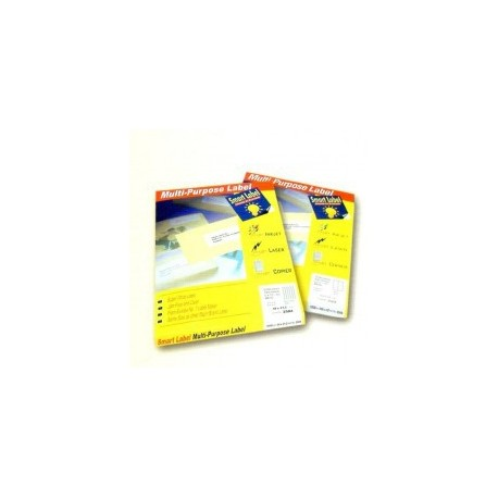 Smart Label 2510 Multipurpose Labels A4 52.5mmx21.2mm 5600's White