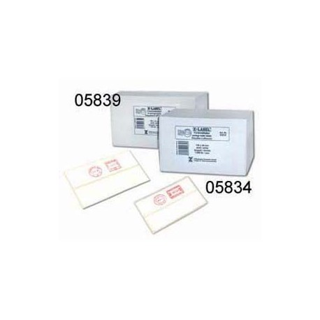 Z-Label 05834 Franking Machine Labels 135mmx40mm 1000's