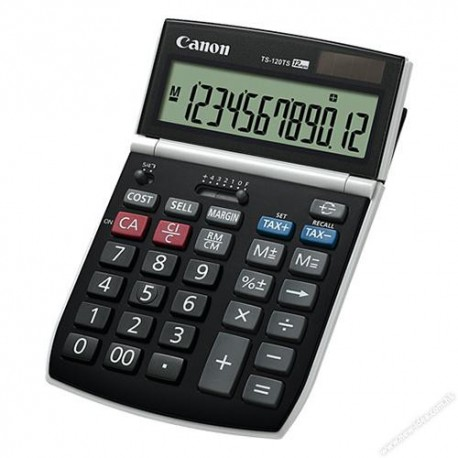 Canon TS-120TS Calculator 12Digits Display Adjustable