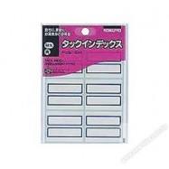 Kokuyo TA23B Tack Index Label Blue