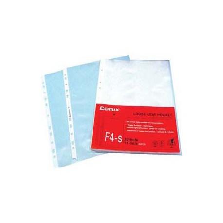 齊心 EH303FC 文件保護套 F4 0.06毫米 20個