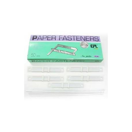 Plastic Fastener 8cm 50's White