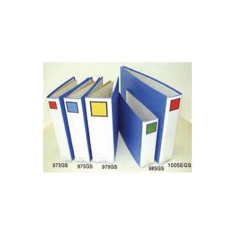 King Jim 976GS 2 Tubes File A4 6cm Vertical