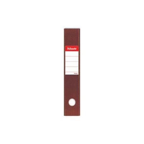 """Esselte PVC Lever Arch File F4 3"""" Brown"""