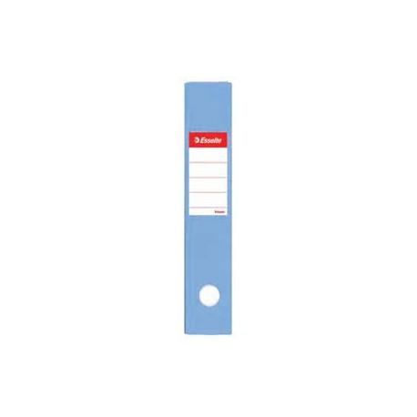 """Esselte PVC Lever Arch File F4 3"""" Light Blue"""