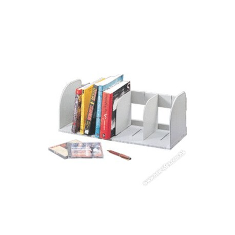 Sysmax 42115 Jumbo Book Rack Grey