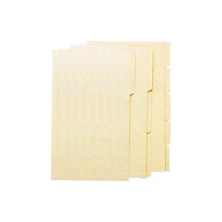 Manila Paper Folder F4 1-Step Beige