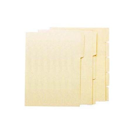 Manila Paper Folder A4 1-Step Beige