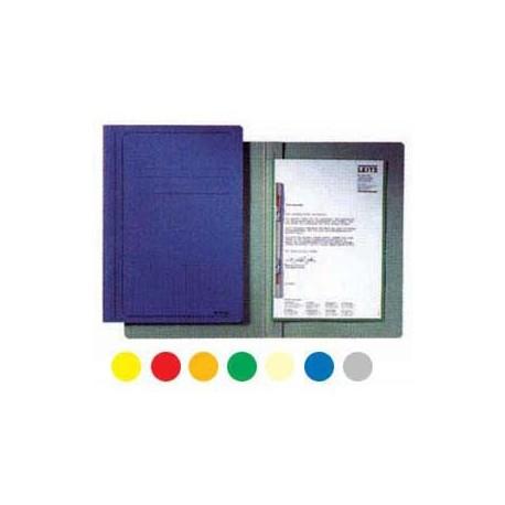 Leitz Paper Folder w/Fastener F4 Yellow