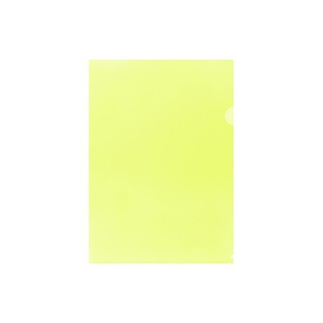 E355 Plastic Folder F4 Yellow