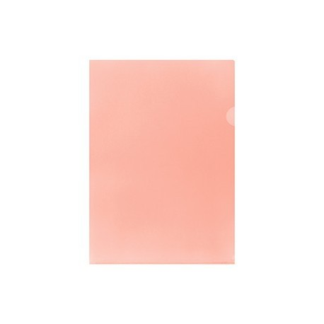 E355 Plastic Folder F4 Pink