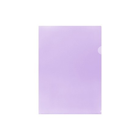 E355 Plastic Folder F4 Purple