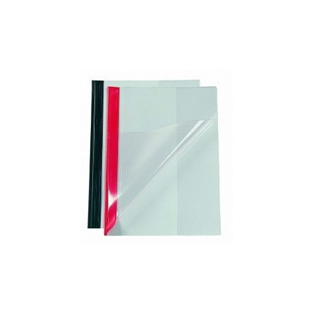 Bantex 3200 Transparent Cover Project File A4 Red