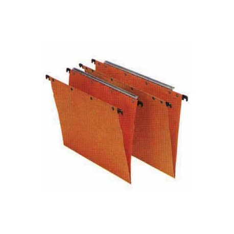 Oblique AZO Hanging File F4 V Base Orange 25's