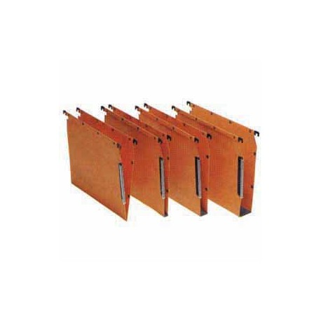 Oblique AZV-V Undershelf Hanging File V Base Orange 25's