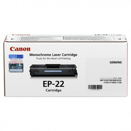 Canon EP-22 Toner Cartridge Black