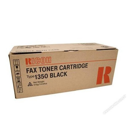 Ricoh Type 1350 Fax Toner Cartridge Black