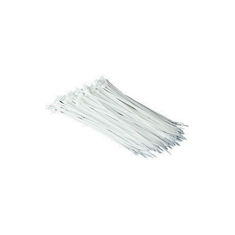"Cable Tie 10""x3.6mm 1000's White"
