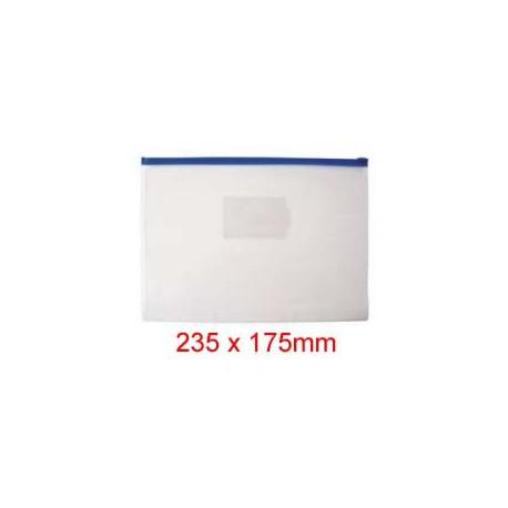 Zipper Clear Bag 235mmx175mm A5