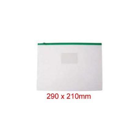 Zipper Clear Bag 290mmx210mm B5