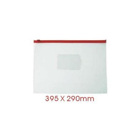 Zipper Clear Bag 395mmx290mm B4