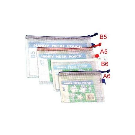 網紋拉鏈袋 260毫米x155毫米 B6