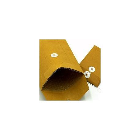 """Bubble Envelope w/String 10""""x14"""" Brown"""
