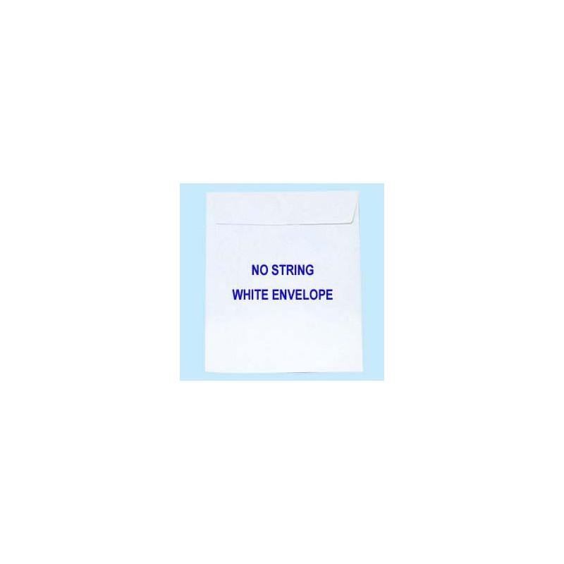 """Envelope w/Glue 10""""x14"""" White"""