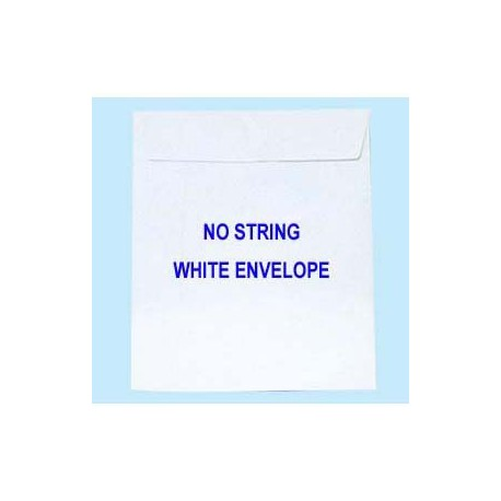 """Envelope w/Glue 9""""x13"""" White"""