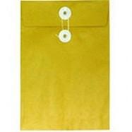 "Envelope w/String 8""x11"" Brown"