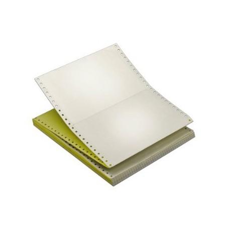 空白電腦紙 三層 9.5吋x11吋 500張 白色/粉紅色/黃色