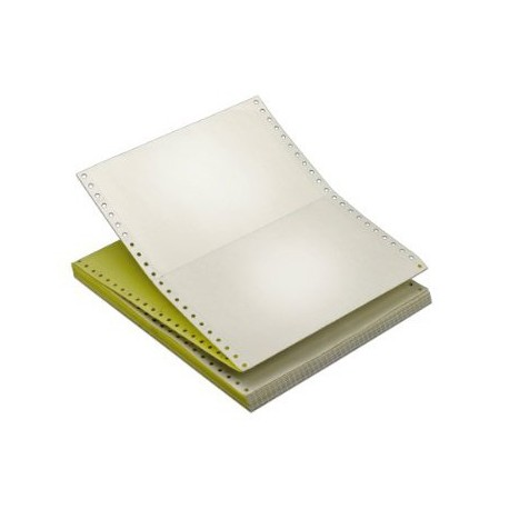 "Computer Blank Form 3-Ply 9.5""x11"" 500Sheets White/Pink/Yellow"