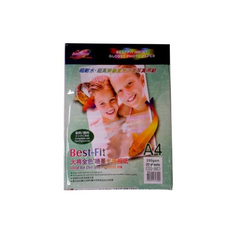 Shogun FJ-303000 Glossy Photo Paper A4 200gsm 20Sheets