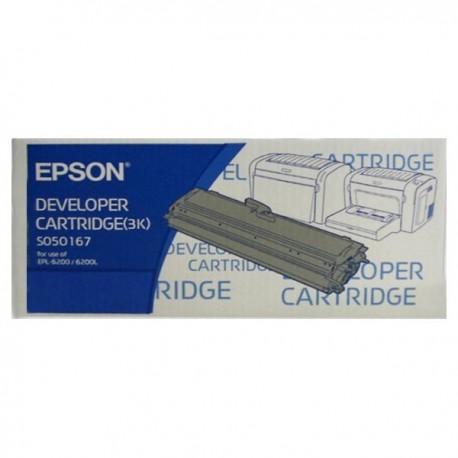 愛普生 C13S050167 碳粉盒 黑色