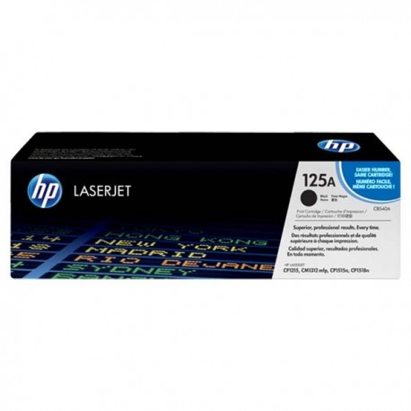 HP CB540A 125A Toner Cartridge Black