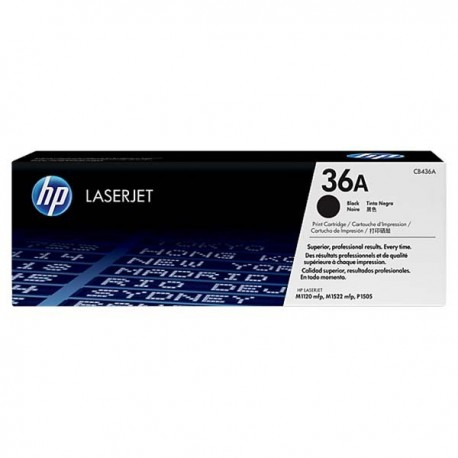 HP CB436A 36A Toner Cartridge Black