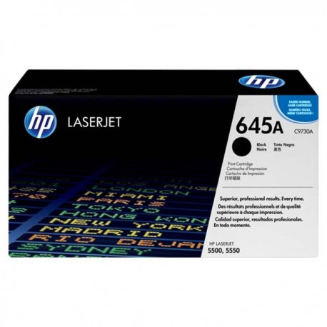 HP C9730A 645A Toner Cartridge Black