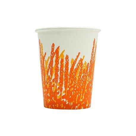 Hot Paper Cup 8oz 50's Printing Pattern