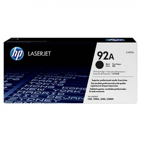 HP C4092A 92A Toner Cartridge Black