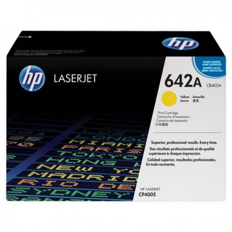 HP CB402A 642A Toner Cartridge Yellow