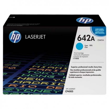 HP CB401A 642A Toner Cartridge Cyan