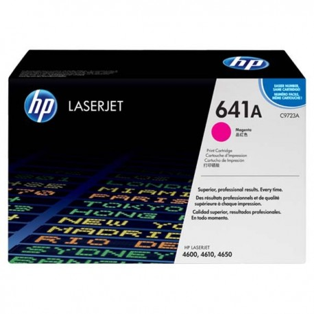 HP C9723A 641A Toner Cartridge Magenta
