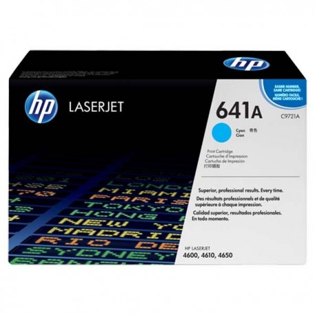 HP C9721A 641A Toner Cartridge Cyan