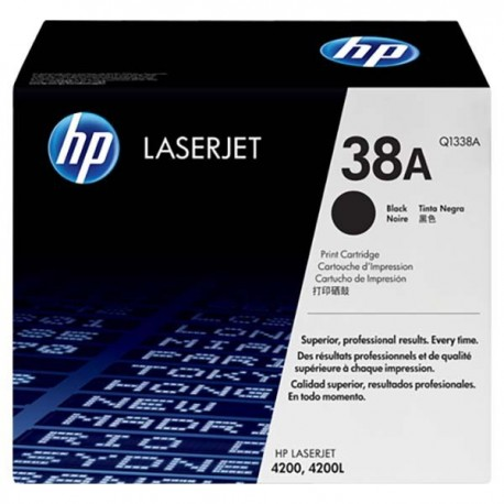 HP Q1338A 38A Toner Cartridge Black