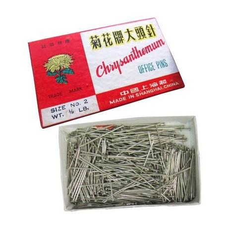 Chrysanthemum No.1 Office Pin 100's