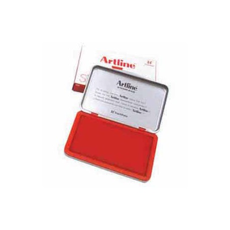 Artline No.1 Stamp Pad 66mmx106mm Red