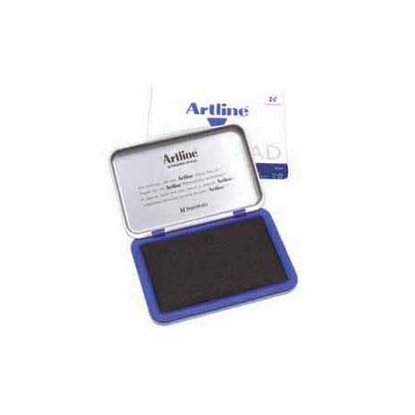 Artline No.1 Stamp Pad 66mmx106mm Blue