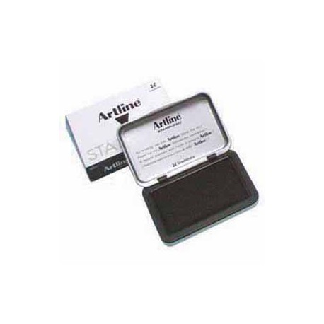Artline No.1 Stamp Pad 66mmx106mm Black
