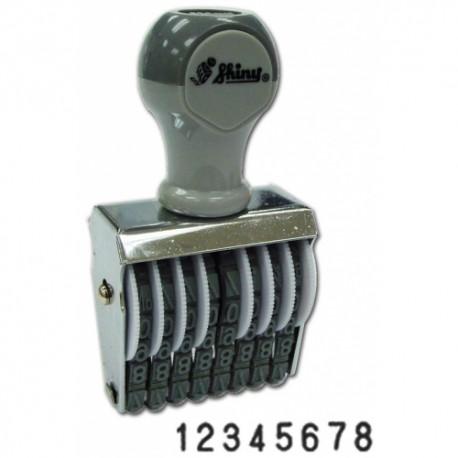 Shiny N48 數字印 4毫米 8位