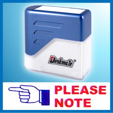 Deskmate KU-004 KU-004 PLEASE NOTE Pre-Inked Chop